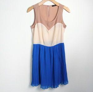 Ark & Co Color Blocked Dress SZ SM